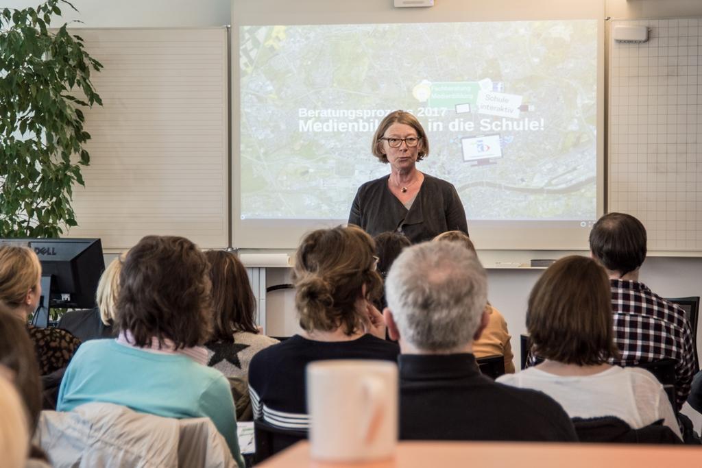 Auftaktveranstaltung Beratungsprozess -Medienbildung in die Schule!- 2017