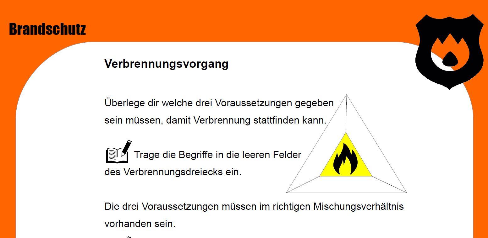 Chemie - Versuche zum Thema Brandschutz