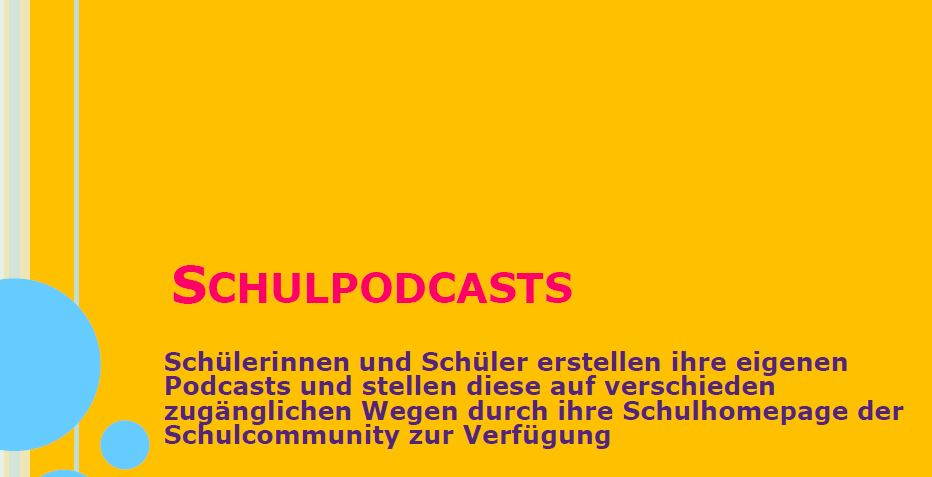 schulpodcasts