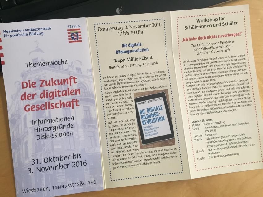 Themenwoche: Die Zukunft der digitalen Gesellschaft